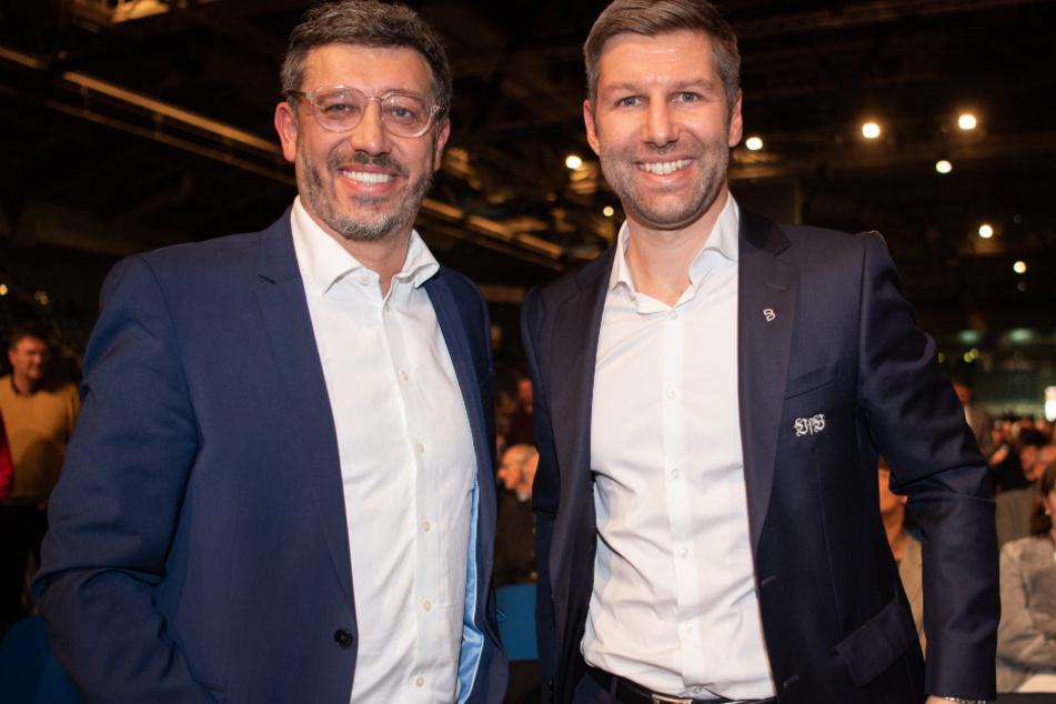 Zuletzt haben sie sich offenbar nicht ganz so gut verstanden: VfB-Präsident Claus Vogt (51) und Vorstandsboss Thomas Hitzlsperger (38).