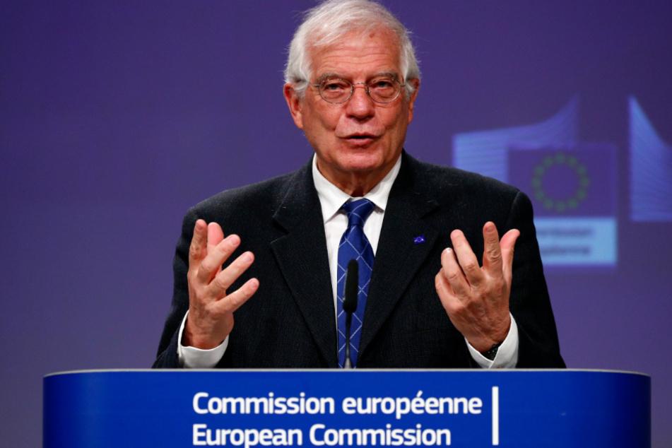 Der EU-Außenbeauftragte Josep Borrell.