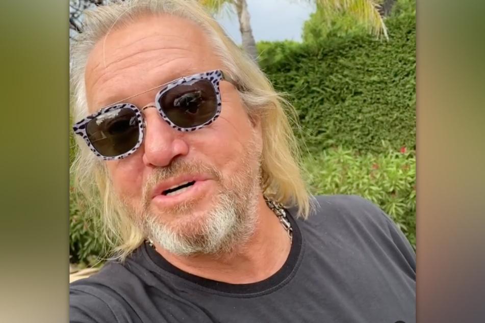 Robert Geiss (57) meldet sich in einem Instagram-Video und kassiert dafür postwendend einen Shitstorm.