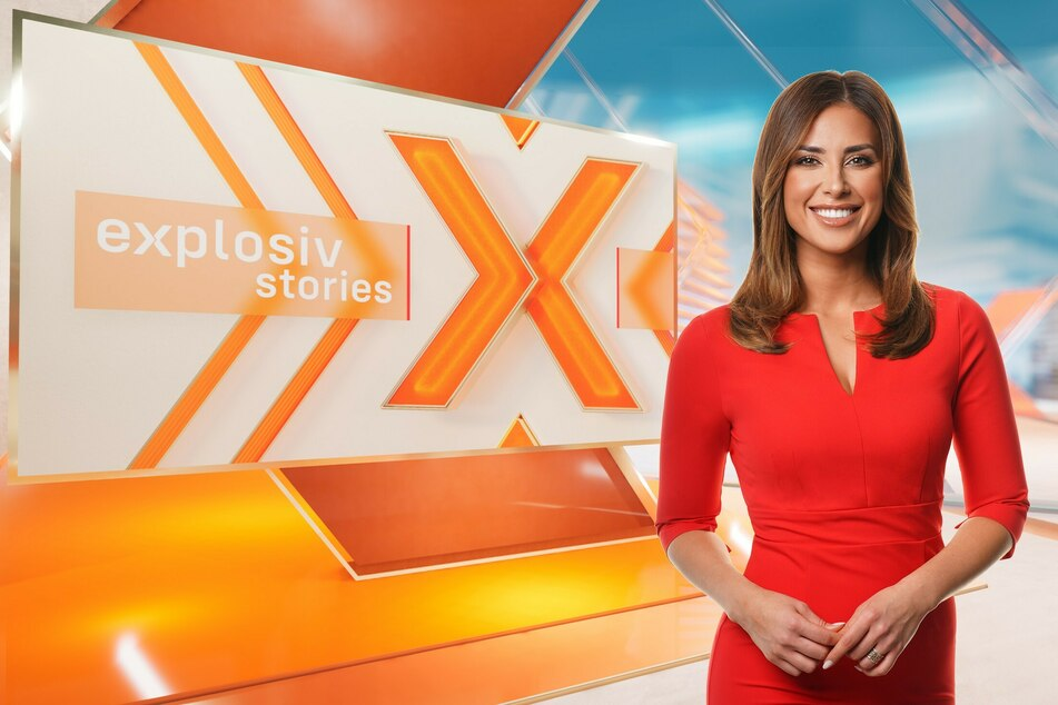 """Jana Azizi (31) gehört ab August zum festen Moderationsteam des neuen RTL-Boulevard-Magazins """"Explosiv Stories""""."""