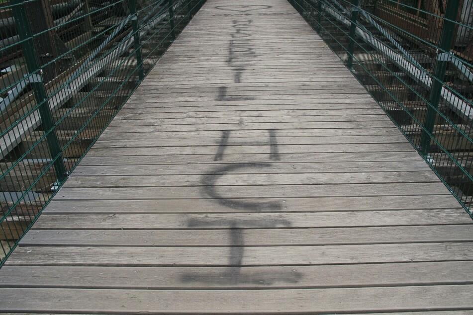 Liebesbotschaft in Zwickau führt zur Anzeige