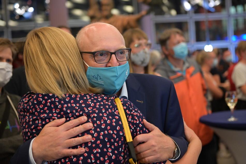 Sven Schulze (48, SPD) geht als Gewinner aus dem ersten Wahlgang am 20. September hervor.