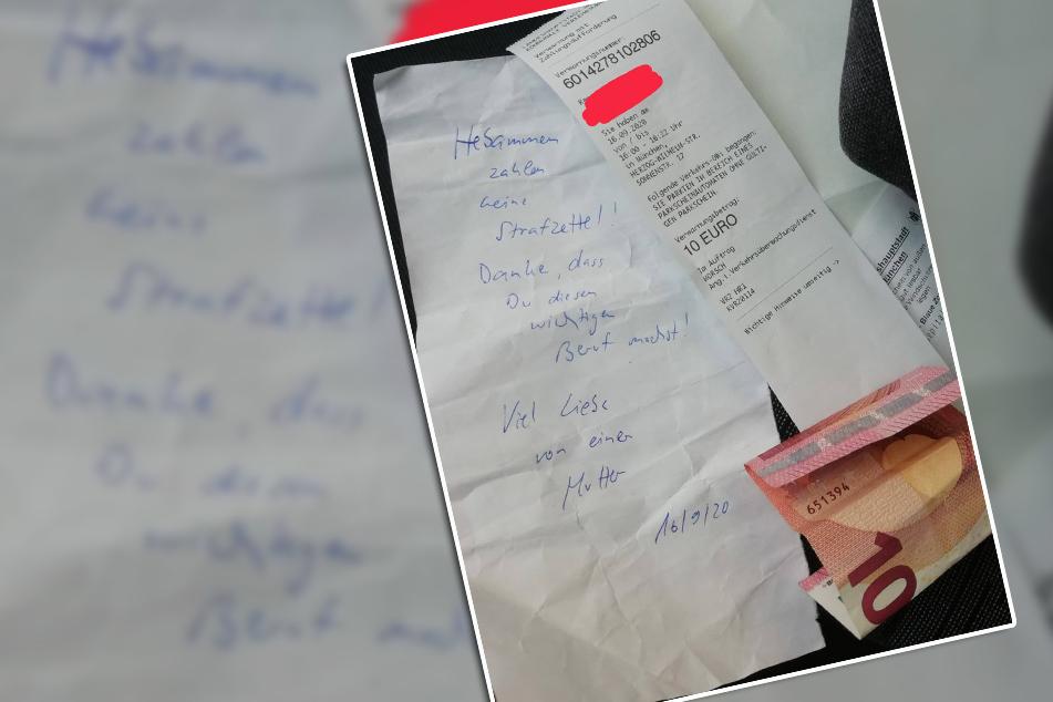"""""""Bin noch total gerührt"""": Unbekannte zahlt Strafzettel für Hebamme! Jetzt beginnt die Suche nach der Frau"""