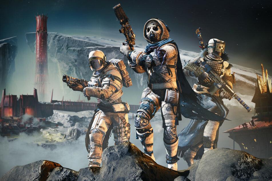 """Mit eurem Feuerteam sorgt Ihr in """"Destiny 2"""" im Universum für Ordnung."""