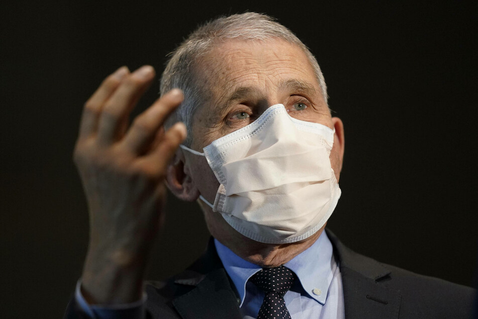 Dr. Fauci warned that the large number of people travelling over the holidays would lead to a surge in infections.