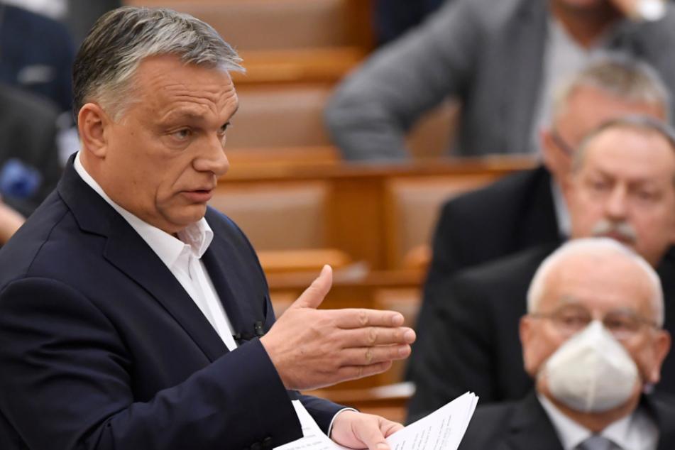 Viktor Orbán (56), Ministerpräsident von Ungarn.
