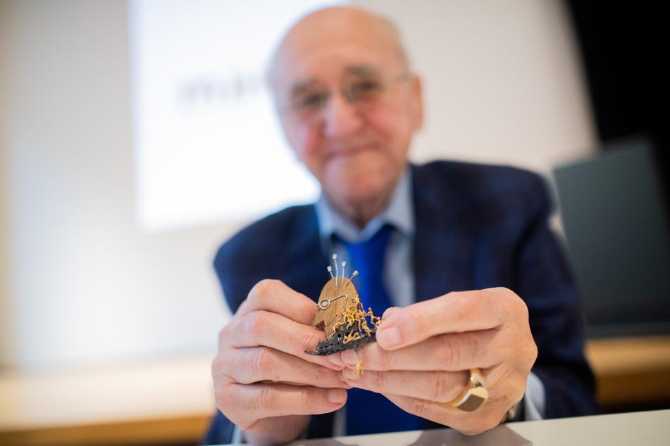 Kochlegende Alfred Biolek hat Geburtstag, beschenkt aber ein Kölner Museum