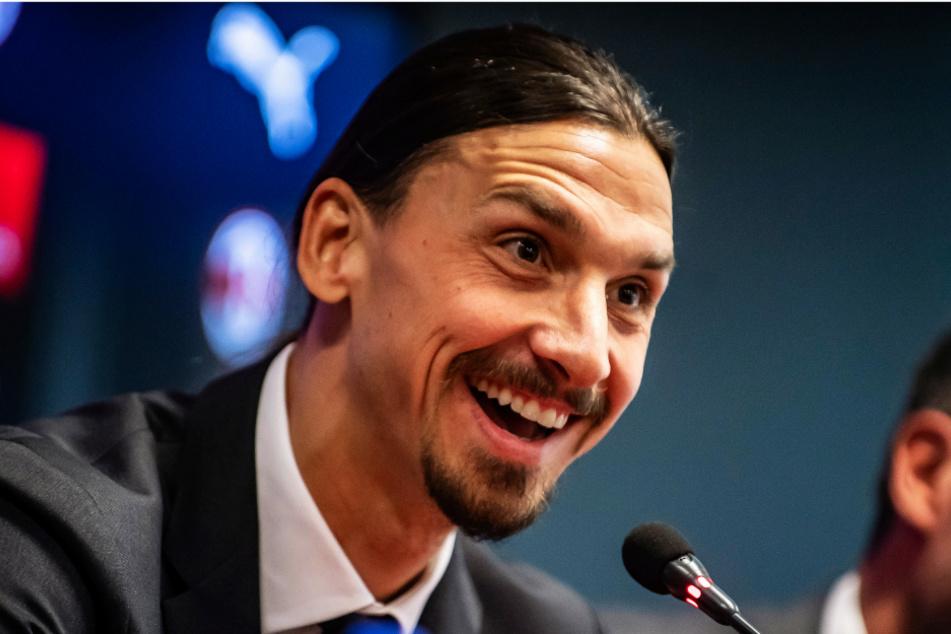 """Zlatan Ibrahimovic (39) spielte bei Los Angeles Galaxy mit Cristian Pavon (24) zusammen und bezeichnete den Flügelflitzer als """"viel zu gut"""" für die US-amerikanische Major League Soccer."""