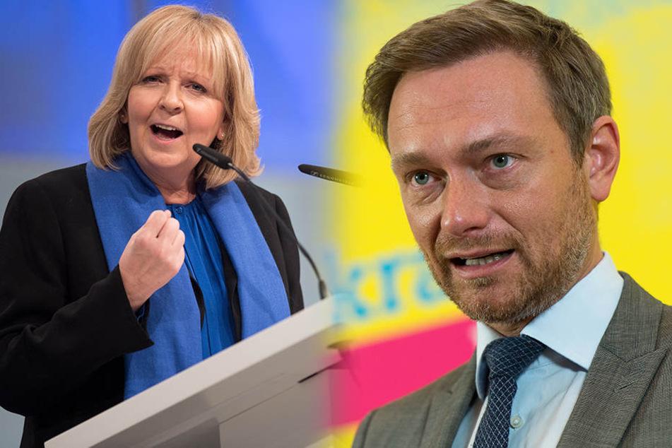 Ministerpräsidentin Hannelore Kraft (55/SPD) und Christian Lindner (38/FDP) haben mit ihren Parteien aktuell einen guten Stand bei den Bürgern.