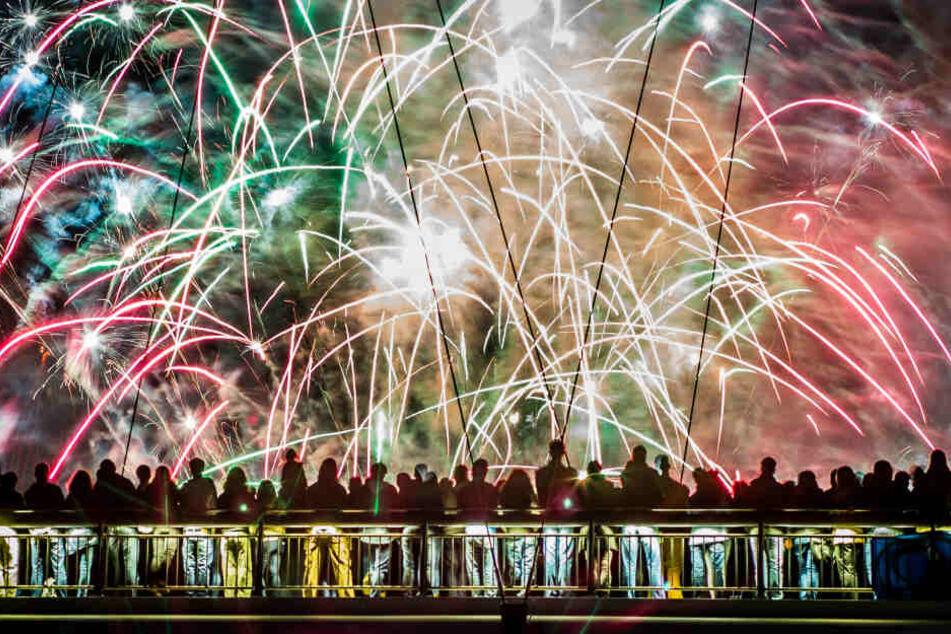 Die Deutsche Umwelthilfe beklagt hohe Feinstaubwerte durch das Feuerwerk an Silvester (Archivbild).