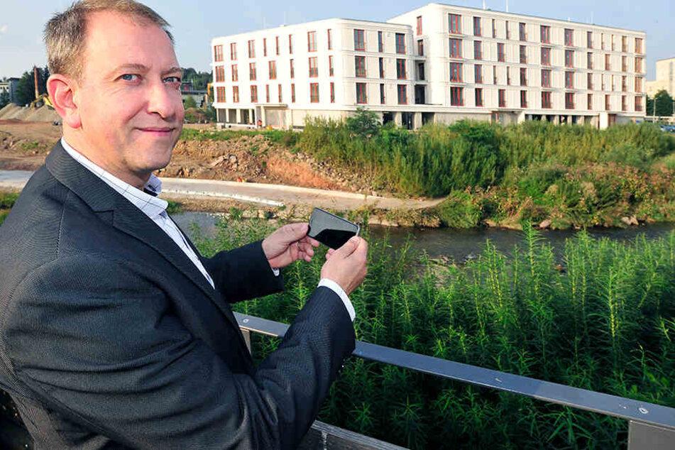 Bunte Fassaden, moderne Architektur: So verändert Chemnitz sein Gesicht