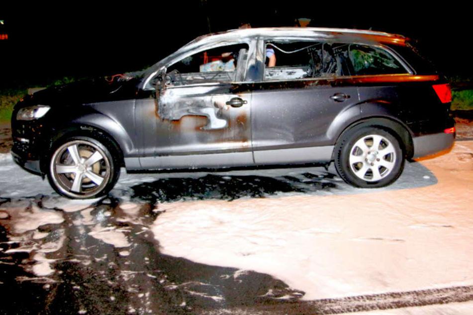 Brandstiftung in Serie? Erneut brennt Luxus-Auto in Berlin