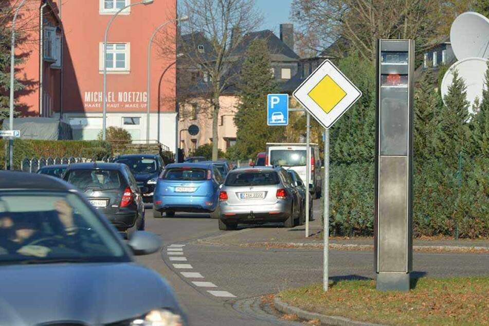Fünf Starenkästen passen insgesamt in der mittelsächsischen Stadt auf, das ist einer auf 220 Einwohner.
