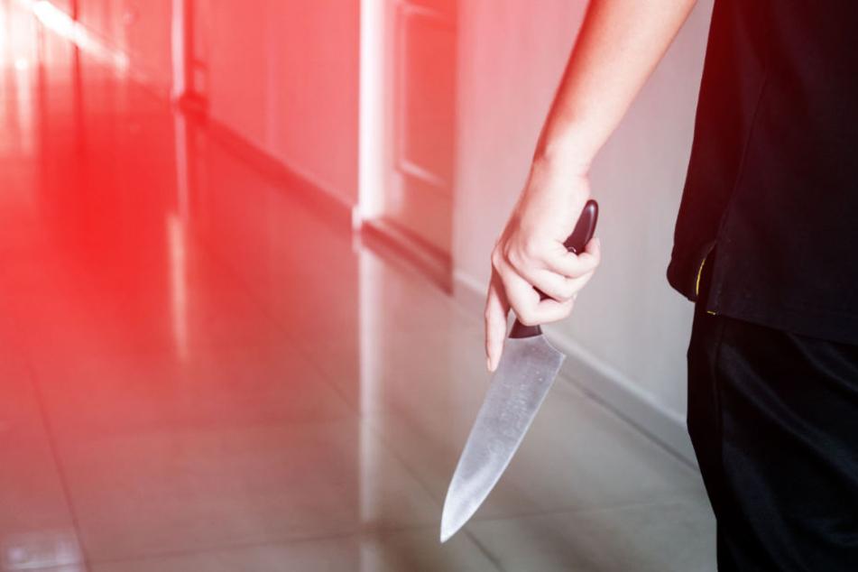 In der Gemeinschaftsunterkunft zückte der Mann das Messer. (Symbolbild)