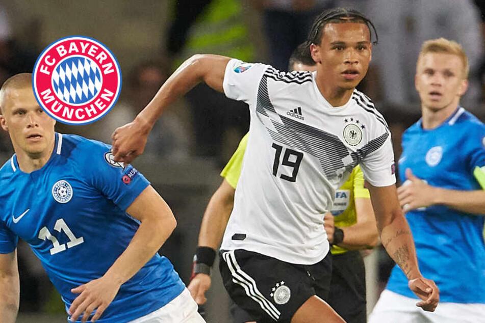 FC Bayern oder Manchester City? Entscheidung bei Leroy Sané wohl bereits gefallen