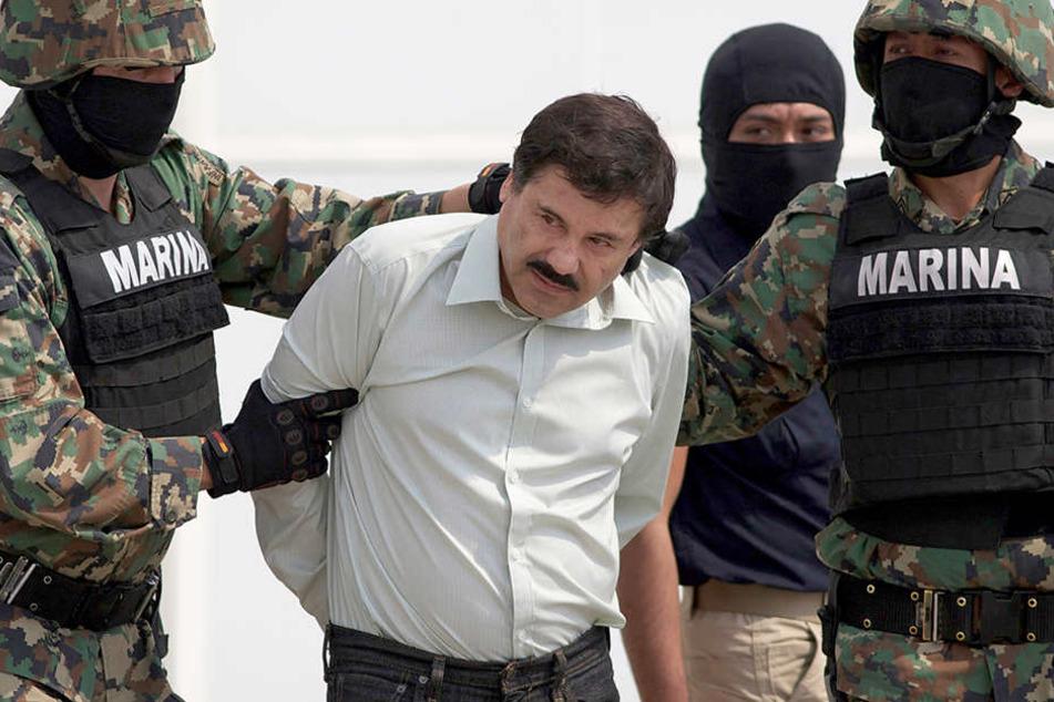 """Seit seiner Auslieferung an die Vereinigten Staaten im Januar 2017 sitzt """"El Chapo"""" in einem Hochsicherheitsgefängnis im New Yorker Bezirk Manhattan."""