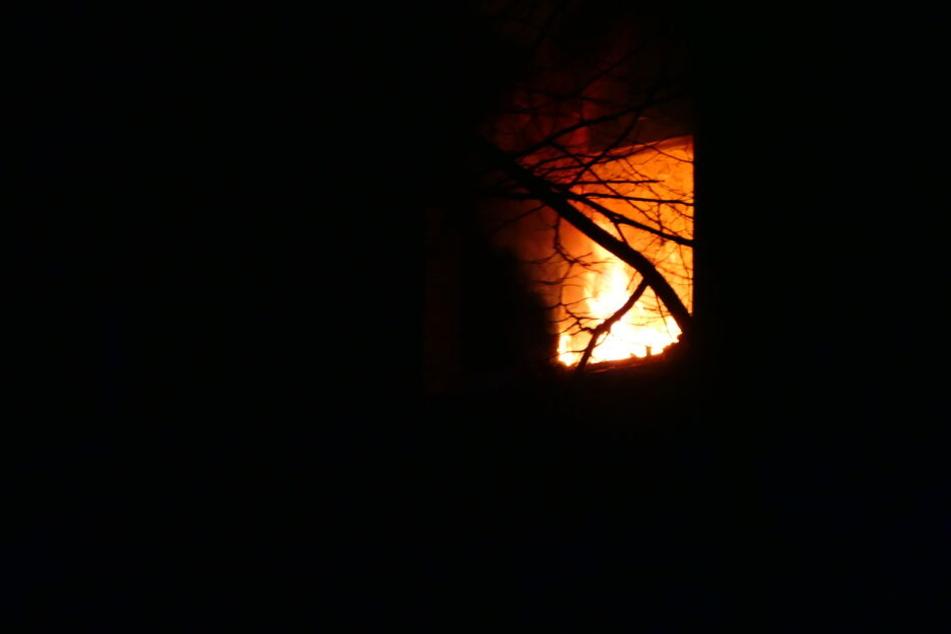 Das Feuer war in der Nacht zu Montag in der Küche der Wohnung ausgebrochen.
