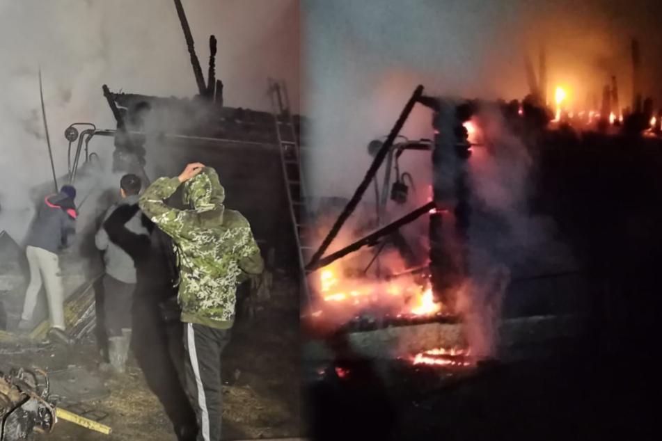 Brandkatastrophe im Pflegeheim: Elf Menschen sterben