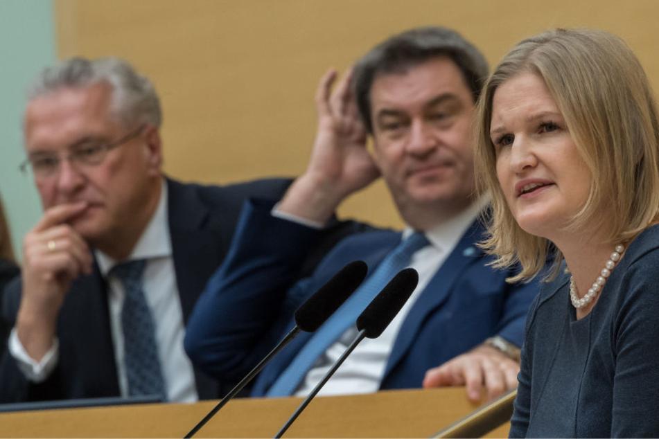 Katrin Ebner-Steiner hielt eine umstrittene Rede im Landtag.