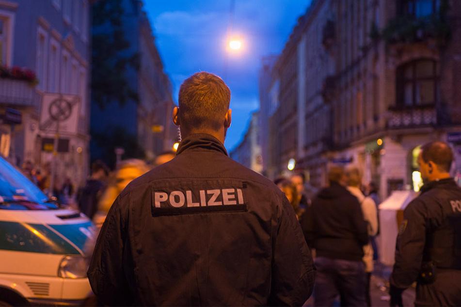 Auf dem Stadtteilfest Bunte Republik Neustadt (BRN) legte sich eine 30-Jährige mit fünf Polizisten an.