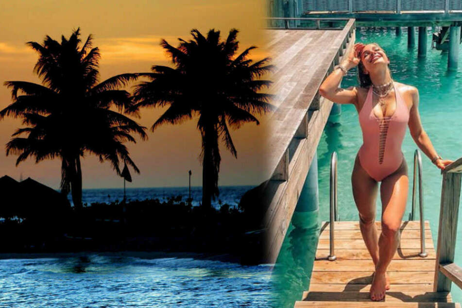 """Model und bigFM-Radiomoderatorin Lola Weippert (23) war als Online-Moderatorin bei der dritten Staffel der RTL2-Show """"Love Island"""" mit dabei. (Fotomontage)"""
