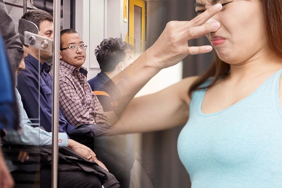 U-Bahnfahrer kennen das Problem, wenn's ringsherum bei Hitze müffelt.