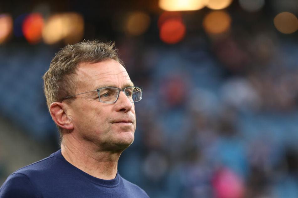 RB-Coach Ralf Rangnick schließt einen Verbleib des Stürmers bis Mitte 2020 mittlerweile nicht mehr aus.