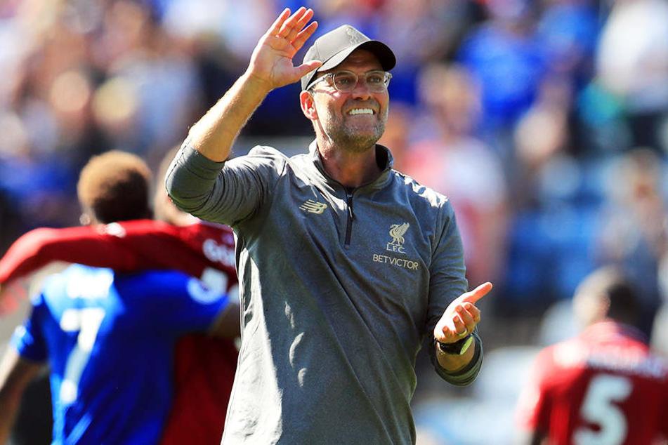 Hat momentan viel zu lachen: Liverpools Trainer Jürgen Klopp.