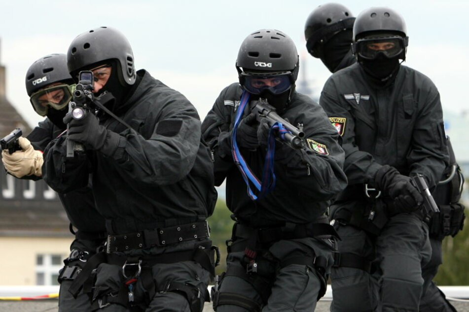 Beamte des Spezialeinsatzkommandos in NRW (Archiv).