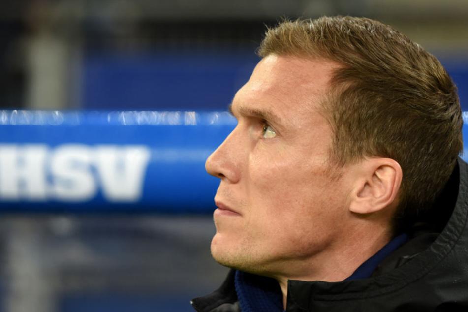 HSV-Trainer Hannes Wolf hat noch kein Spiel verloren.