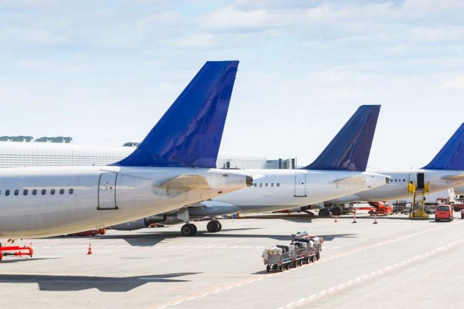 Aufgrund der Wetterlage mussten mehrere Flüge gestrichen werden. (Symbolbild)
