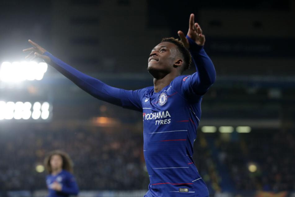 Callum Hudson-Odoi steht wohl kurz vor einer Vertragsverlängerung beim FC Chelsea.