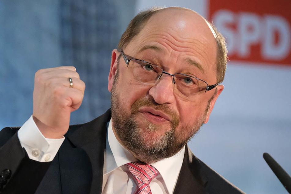 Kanzler-Kandidat Martin Schulz (61, SPD) punktete am vergangenen Sonntag mit seiner Ansprache bei dem Leipziger Publikum.