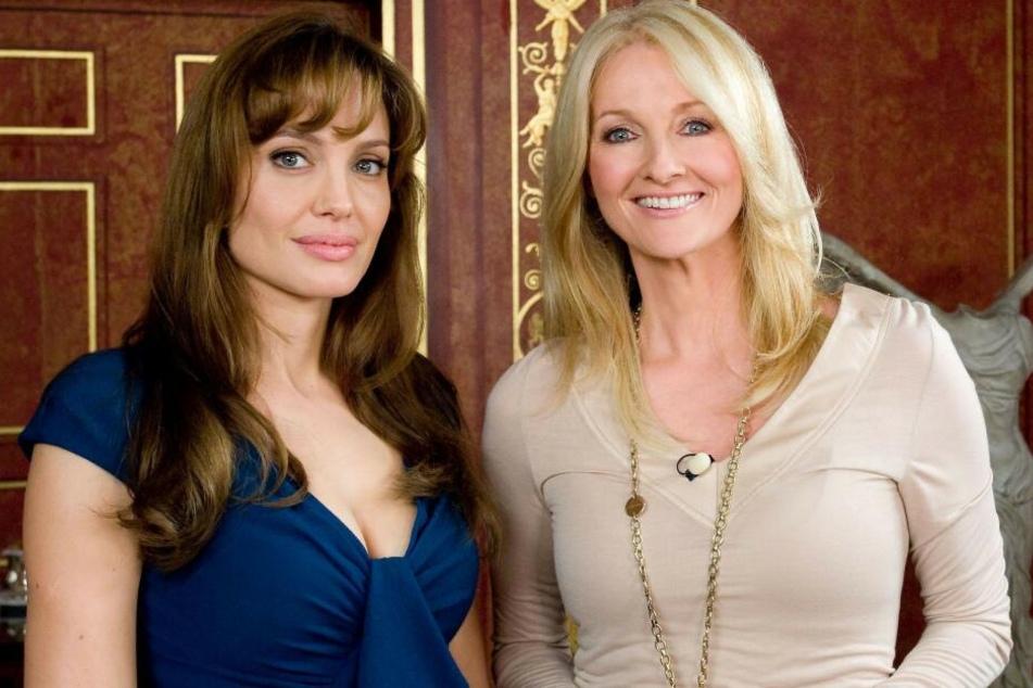 2010: Frauke Ludowig (r.) und Hollywood-Schauspielerin Angelina Jolie.