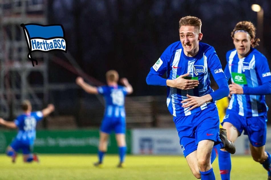 Deutsche Jugendfußballer rocken! Herthas U19 als Paradebeispiel