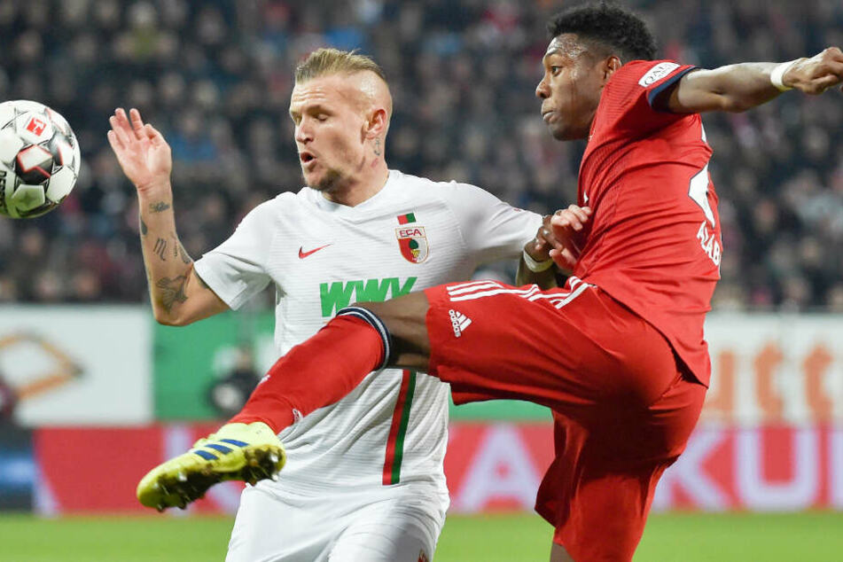 Der FC Bayern München konnte beim FC Augsburg knapp mit 3:2 einen Sieg einfahren.