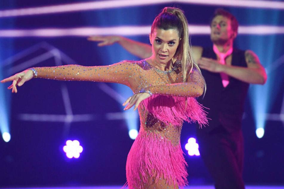 Für Nadine Klein und Tanzpartner Niko Ulanovsky ist das Abenteuer Dancing on Ice vorbei.