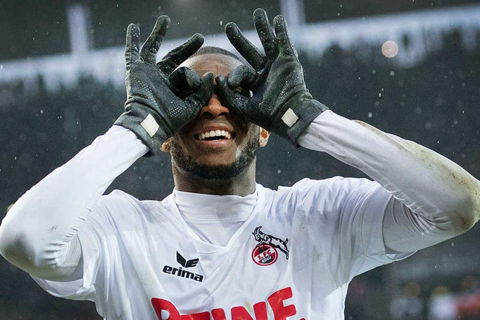 Anthony Modeste (30) wird künftig wieder das Trikot des 1. FC Köln tragen.
