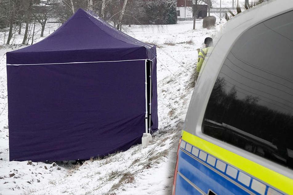 Horror-Fund in Sachsen: Tote Frau in Straßengraben entdeckt
