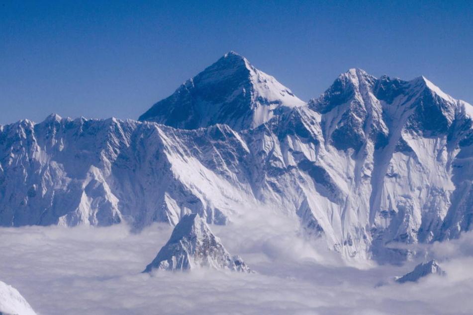 Am Mount Everest wurden vier tote Männer entdeckt. (Symbolbild)