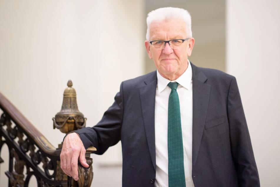 Winfried Kretschmann regiert seit 2011 in Baden-Württemberg.