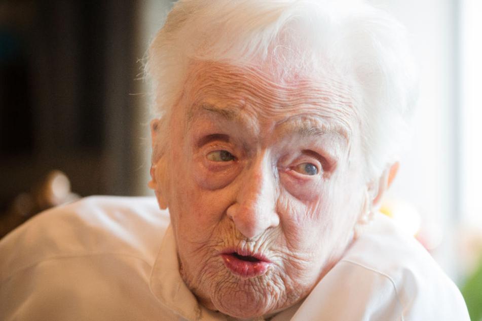 """""""Wer kommen will, kann kommen"""" Wohl älteste Frau Deutschlands feiert Geburstag"""