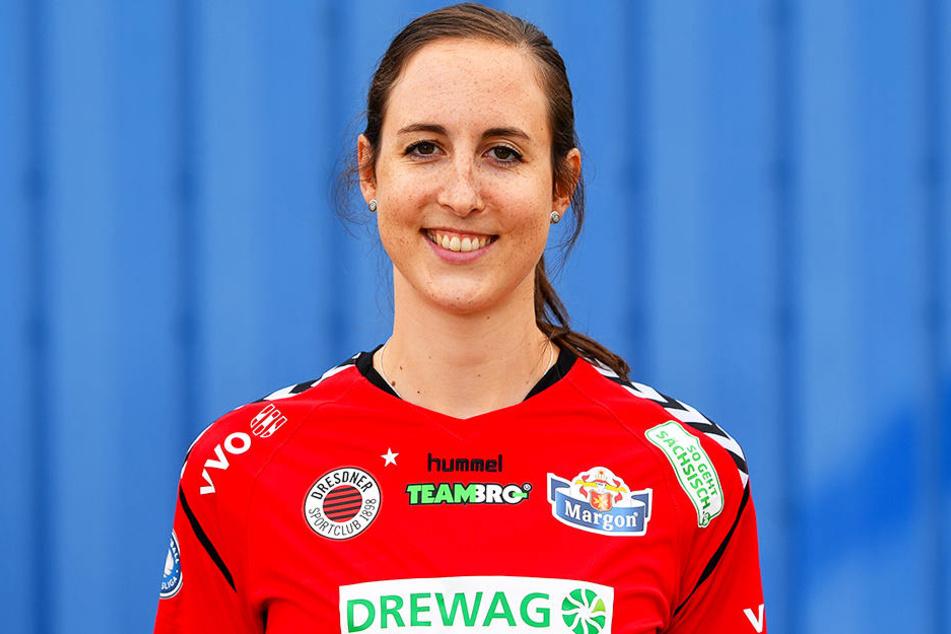 DSC-Spielerin Lena Möllers.