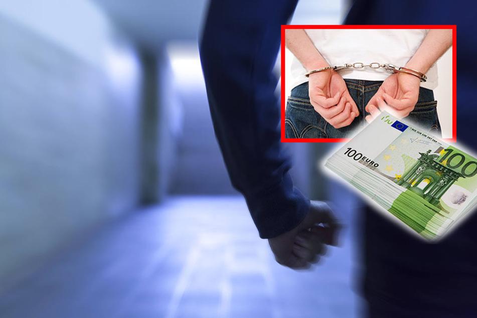 Für den Gefallen, seiner Bekannten 100 Euro zu leihen, landete der 27-jährige am Ende im Gefängnis. (Symbolbild)