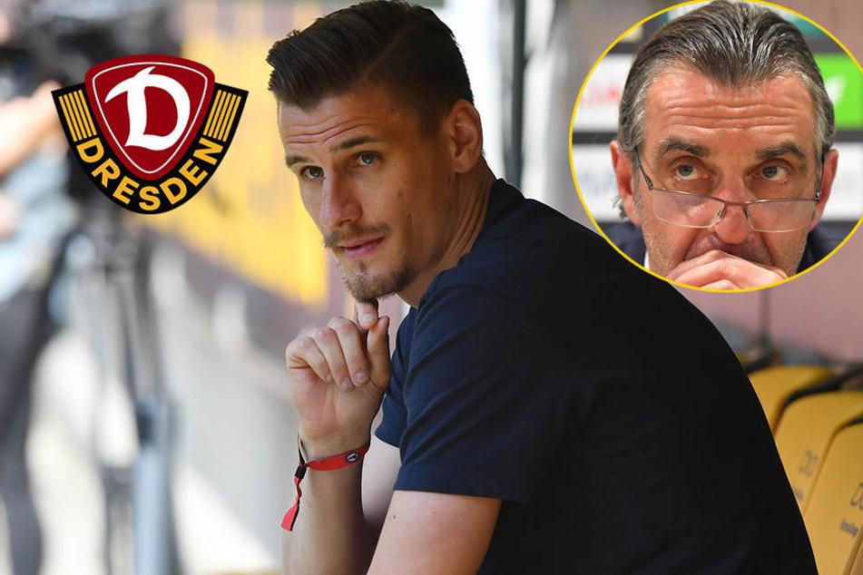 Bei Stefan Kutschke bleibt für Dynamo ein fader Beigeschmack