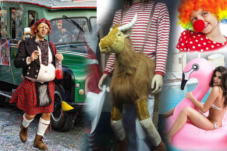 Was ist der Kostümtrend 2018? Flamingos, Clowns oder doch Schotten-Kostüme - Hauptsache verkleidet!