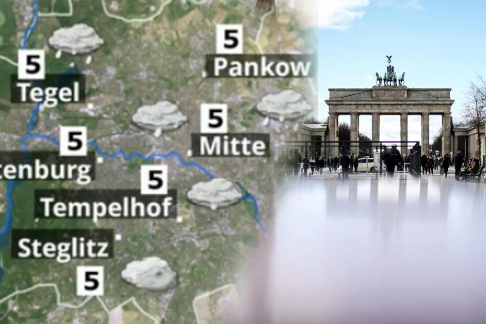 Schneeflocken trotz Frühling? In Berlin und Brandenburg wird's frisch