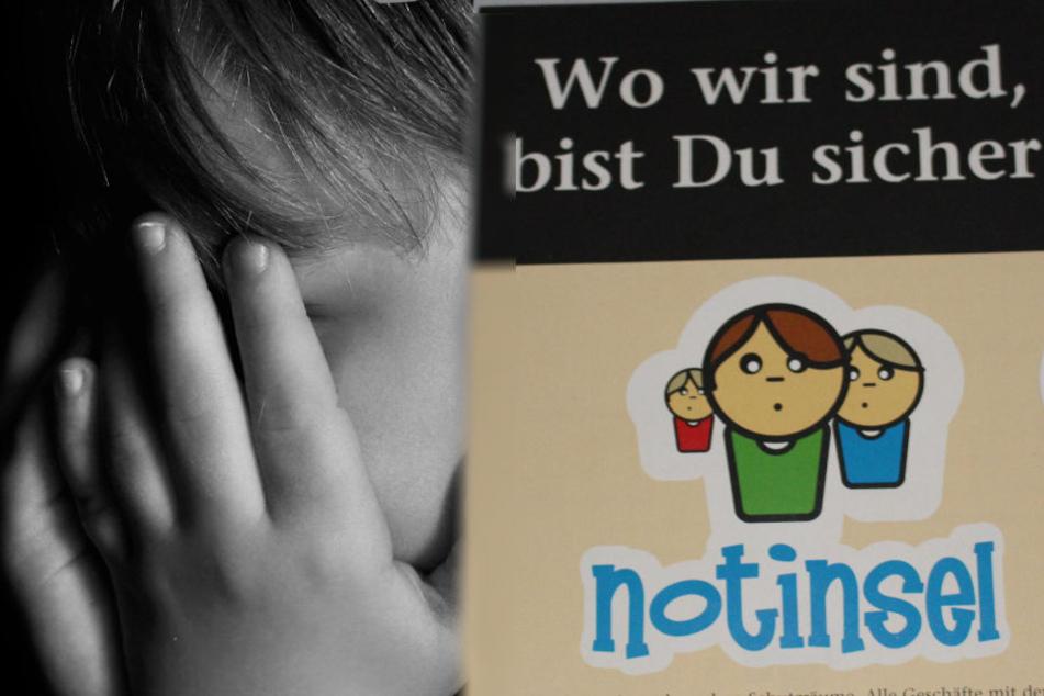 """Wenn Kinder Angst haben, bietet die Initiative """"Notinsel"""" Platz und Raum zum Schutz. (Symbolbild)"""