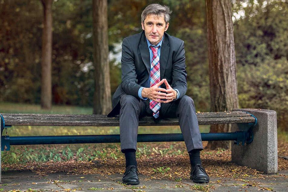 Frank Richter (56) verlässt die  Landeszentrale für politische Bildung. Sein Nachfolger lässt auf sich warten.  Ursprünglich war ein zügiges Verfahren geplant.