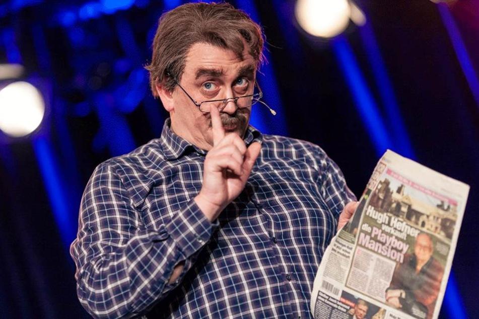 Klempner Bernd Seifert verrät, was er 2017 gern in der Morgenpost lesen würde.